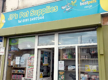 JP's Pet Supplies, Sunderland