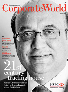 Zameer Choudrey Interviewed by HSBC's Corporate World