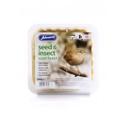 Johnson's Seed & Insect Suet Feast