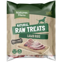 Natures Menu Natural Raw Lamb Ribs