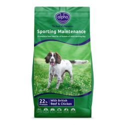 Alpha Adult Maintenance Sporting Dog