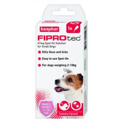 Beaphar FIPROtec Spot-On for Small Dogs 1 pipette