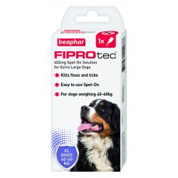 Beaphar FIPROtec Spot-On for Extra Large Dogs 1 pipette