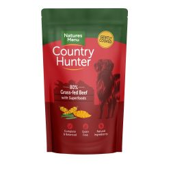 Country Hunter Grass Grazed Beef Dog Pouches
