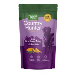 Country Hunter Farm Reared Turkey Dog Pouches