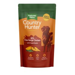 Country Hunter Free Range Chicken Dog Pouches