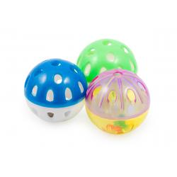 Ancol Plastic Ball & Bell