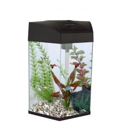 Fish 'R' Fun Hexagonal Aquarium Black