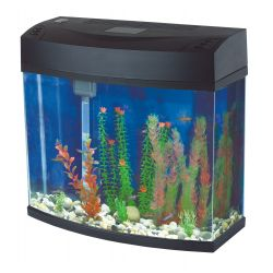 Fish 'R' Fun Panoramic Aquarium Black