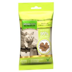 Natures Menu Real Meaty Cat Treats with Chicken & Turkey
