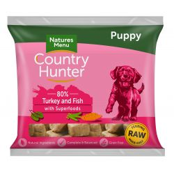 Country Hunter Puppy Nuggets Turkey & Fish with Superfoods