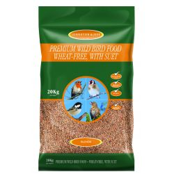 Johnston & Jeff Premium Wild Bird - Wheat-Free with Suet