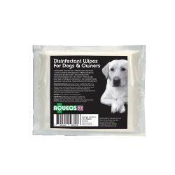 Aqueous Disinfectant Wipes for Dogs and Owners