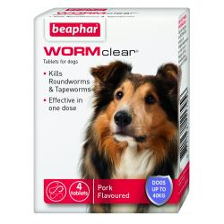 WORMclear Dog Up To 40kg
