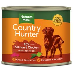 Country Hunter Salmon with Chicken Can
