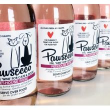 Woof & Brew Pawsecco Rose