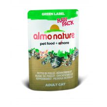 Almo Nature Green Label Raw Pack Chicken Breast