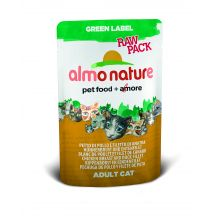 Almo Nature Green Label Raw Pack Chicken & Duck Fillets