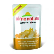 Almo Nature Classic Pouch Tuna & Chicken