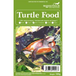 Monkfield Frozen Turtle Food 100g Pack