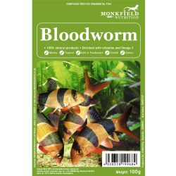 Monkfield Bloodworm 100g Pack
