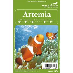 Monkfield Artemia (Brine Shrimp) 100g Pack