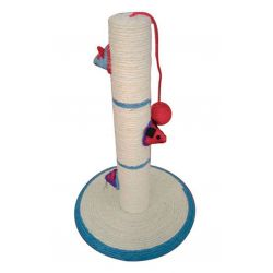 Lazy Bones Sisal Cat Post & Toys