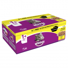 Whiskas 1+ Casserole Poultry 40/32