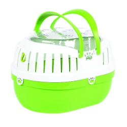 Happy Pet Small Animal Carrier Green