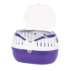 Happy Pet Small Animal Carrier Purple