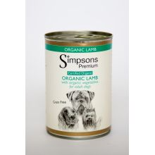 Simpsons Dog Organic Lamb