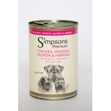 Simpsons Dog Chicken / Herring / Salmon