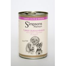 Simpsons Puppy Turkey / Venison / Duck