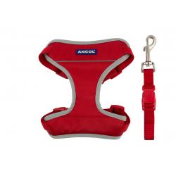 Ancol Travel Harness Red