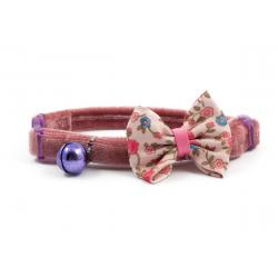 Ancol Collar Cat Vintage Pink Bow