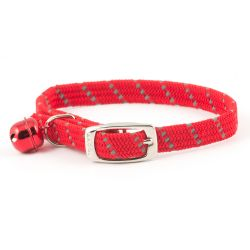 Ancol Collar Cat Reflective Red