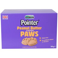 Pointer Peanut Butter Paw