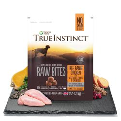 True Instinct Raw Bites Free Range Chicken for Medium/Large Breed Adult Dogs