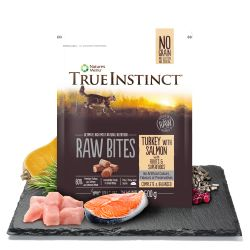True Instinct Raw Bites Turkey & Salmon for Cats