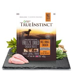 True Instinct Chicken Freeze Dried Treats for Adult Dogs