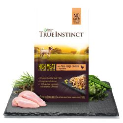 True Instinct Free Range Chicken Fillets for Small Breed Dogs