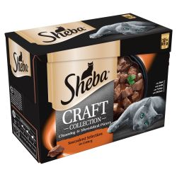 Sheba Pouch Craft Succelent Selection 12 pack