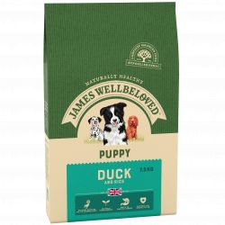 James Wellbeloved Dog Puppy Duck & Rice