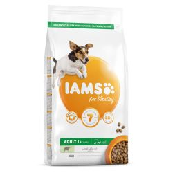 IAMS for Vitality Adult Small & Medium Dog Food with Lamb