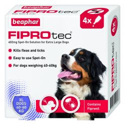 Beaphar FIPROtec Spot On Extra Large Dog 4 pipette