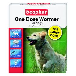 Beaphar One Dose Wormer for Dogs