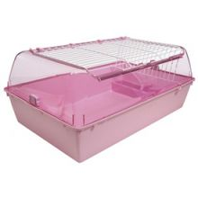 Zoo Zone Critter Home - Medium Pink