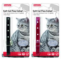 Beaphar Cat Flea Collar Diamante