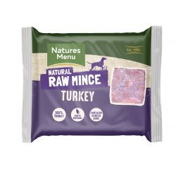 Natures Menu Just Turkey 400g Mince