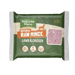 Natures Menu Lamb & Chicken 400g Mince